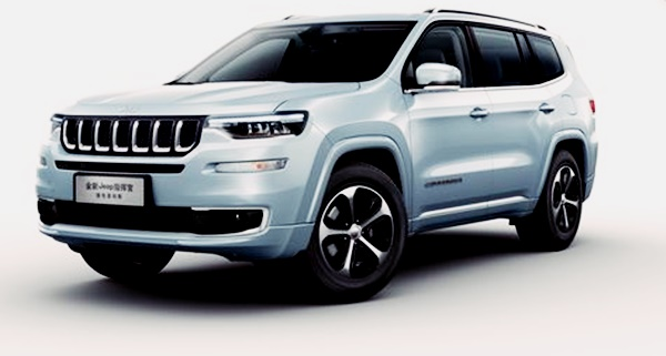 2022 Grand Cherokee Exterior facelift