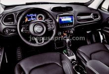 2022 Jeep Renegade Interior Design