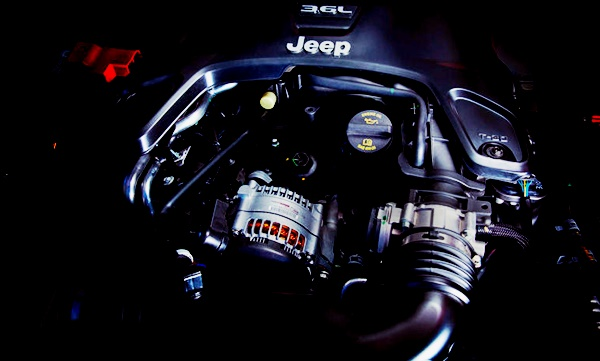 2022 Jeep Wrangler Engine