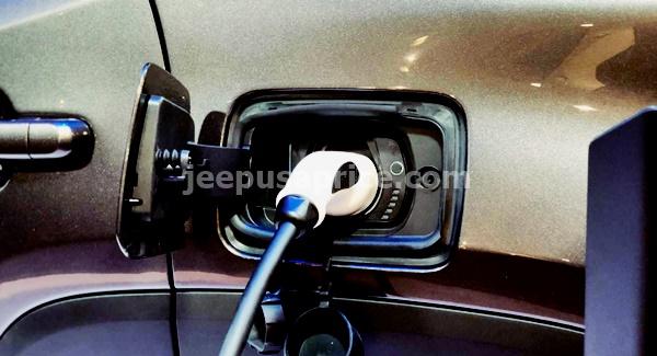 Jeep Wrangler Electric Concept