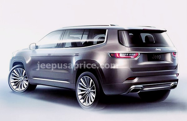 New 2022 Jeep Grand Wagoneer Exterior