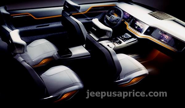 New 2022 Jeep Grand Wagoneer Interiior