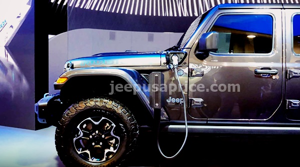 New 2022 Jeep Wrangler Electric Concept