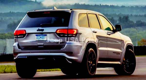 2021 Jeep Grand Cherokee SRT Exterior