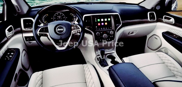 2021 Jeep Grand Cherokee SRT Interior