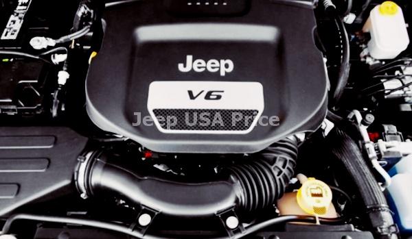 2021 Jeep Grand Wagoneer Engine
