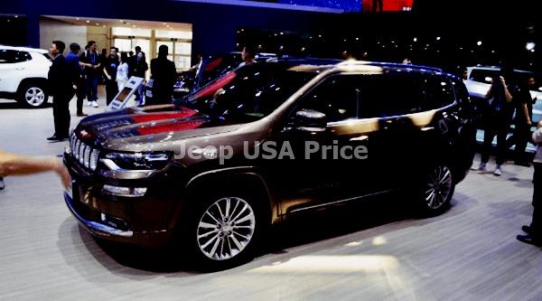 2021 Jeep Wagoneer Exterior Design