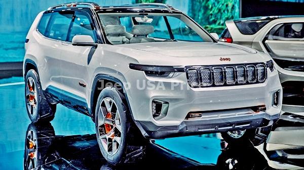 Jeep Wagoneer Interior 2021
