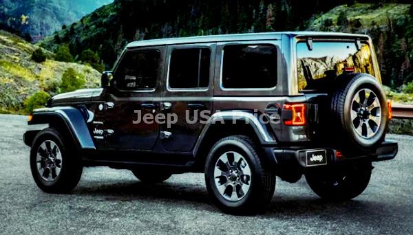 2021 Jeep Wrangler Diesel Design