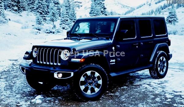 2021 Jeep Wrangler Exterior Design