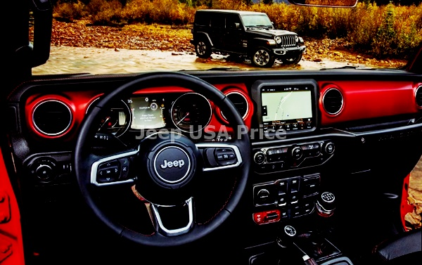 2021 Jeep Wrangler Interior Design