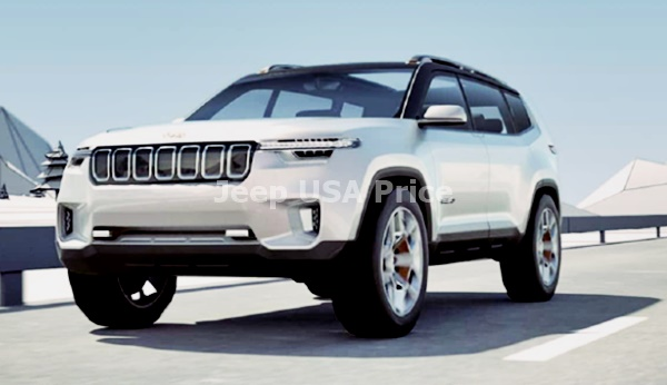 2022 Jeep Grand Cherokee Facelift Design