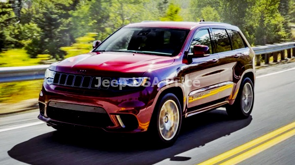 2022 Jeep Grand Cherokee SRT Electric Model