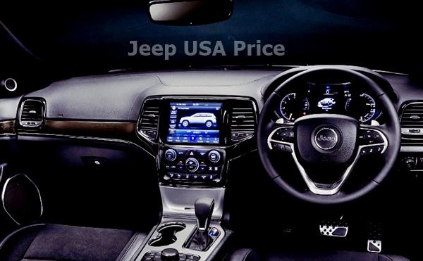 2022 Jeep Grand Wagoneer Interior Design