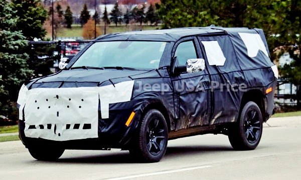 2022 Jeep Grand Wagoneer Launch in India