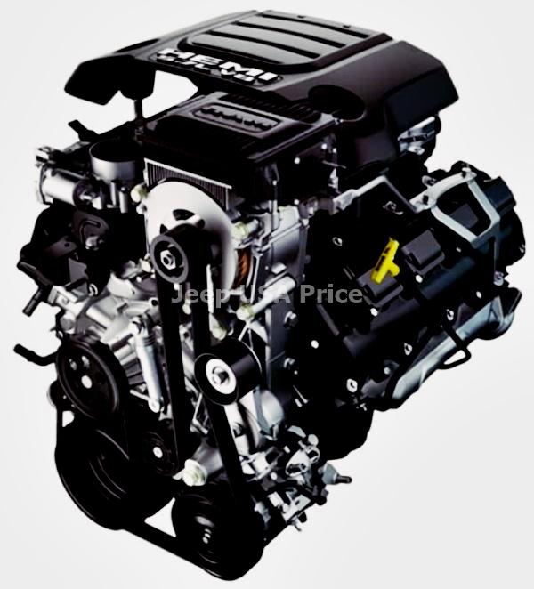 New 2021 Jeep Wrangler Engine