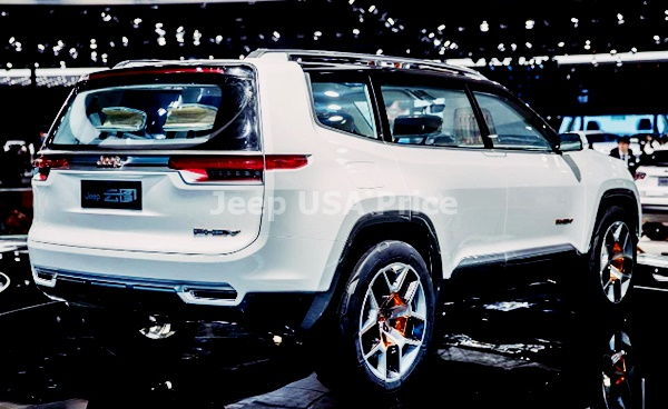 Jeep Wagoneer 2022 Exterior Design