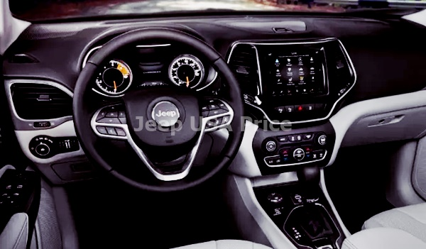 Jeep Wagoneer 2022 Interior Design