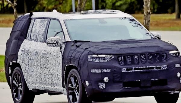 2022 Jeep Grand Wagoneer Design