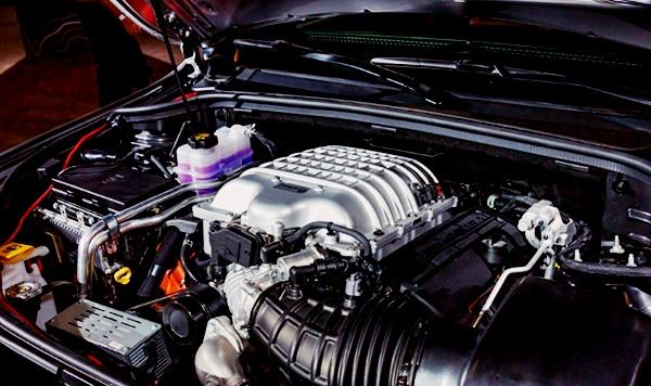 2022 Jeep Grand Wagoneer Engine