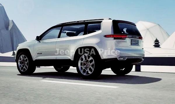2022 Jeep Grand Wagoneer Suv Design