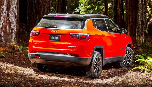 2022 Jeep Compass Facelift Exterior