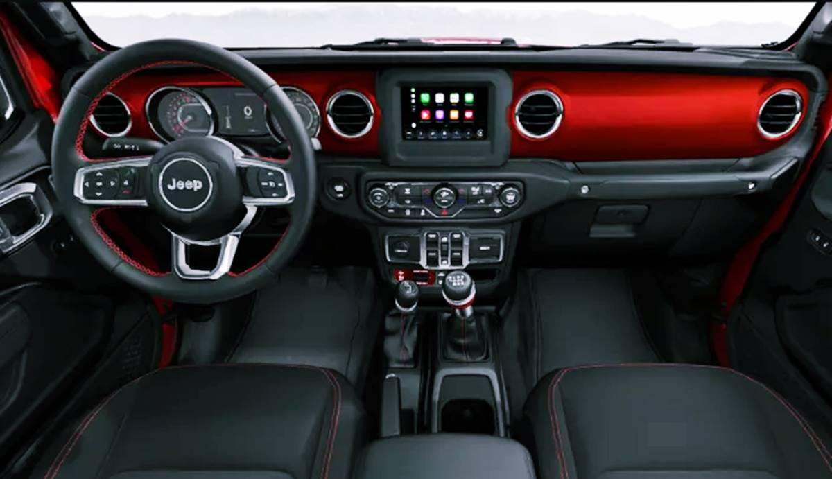 2021 Jeep Gladiator Topper Interior