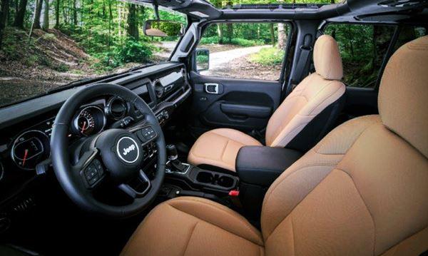 2021 Jeep Wagoneer Rubicon Interior