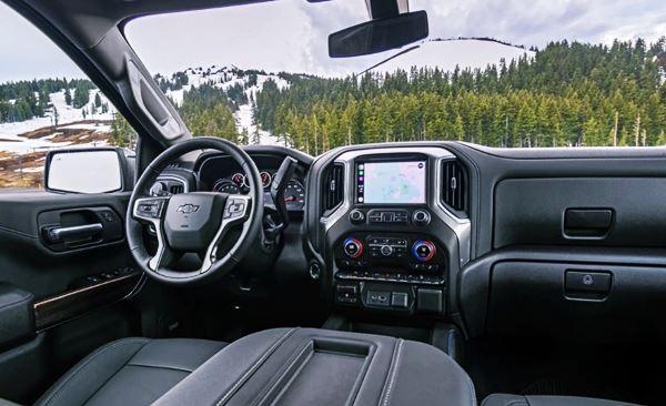 2022 Chevy Silverado 1500 Interior