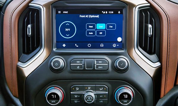2022 Chevy Silverado Interior update