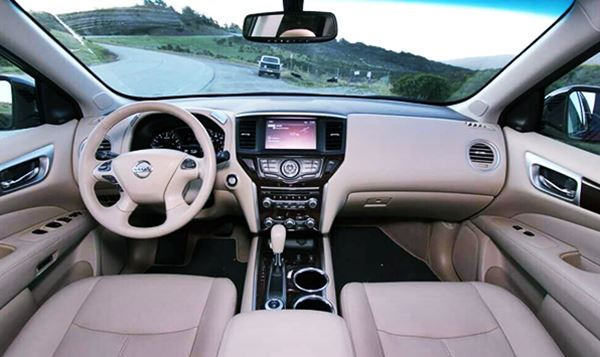 2022 Nissan Pathfinder New Interior Design