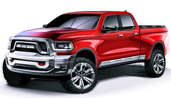 2022 Ram Dakota Redesign
