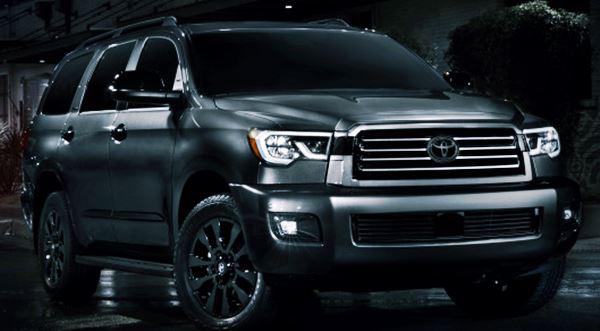 New 2021 Toyota Sequoia Redesign