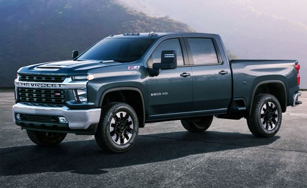 New Chevy Silverado 2022 Exterior Design