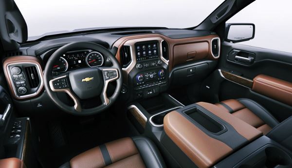 New Chevy Silverado 2022 Interior Design