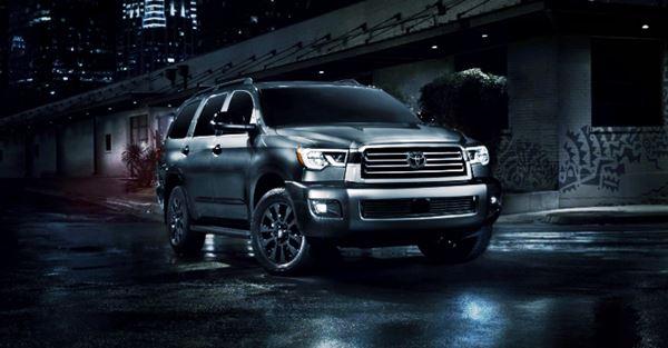 New Toyota Sequoia 2021 Design