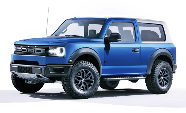 2022 Ford Bronco New Design