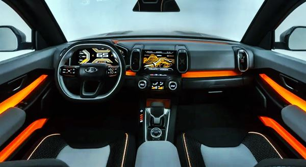 Lada Niva 4x4 2021 Interior Design