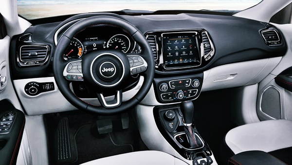 New 2022 Jeep Compass Interior