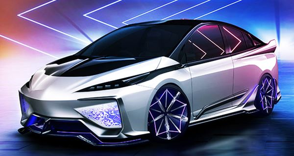 New 2022 Toyota Prius Redesign