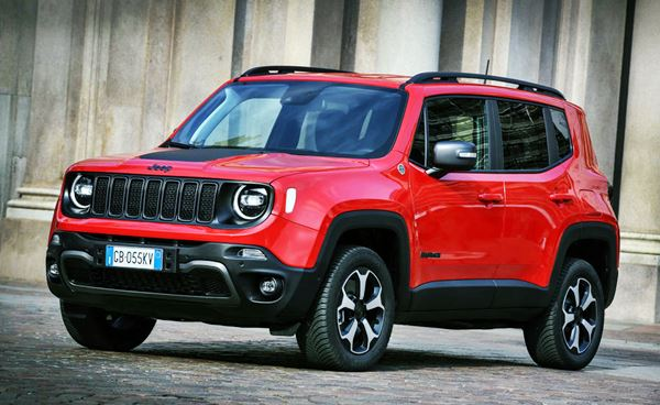 New Jeep Renegade 2022 Design