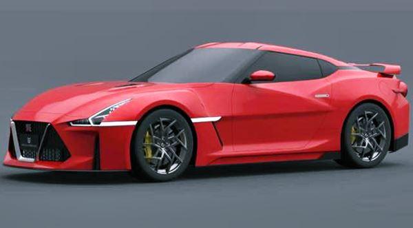 2022 Nissan GTR Redesign Exterior