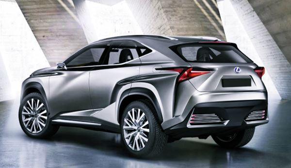 2022 Lexus NX Redesign Exterior