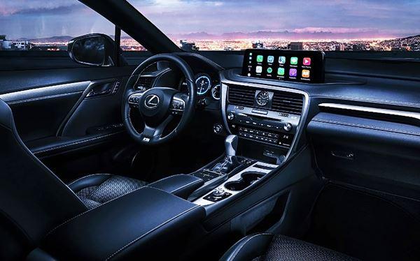 2022 Lexus RX 350 New Interior