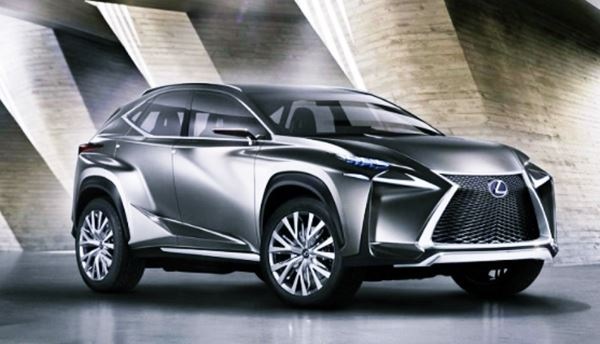 New 2022 Lexus NX Redesign