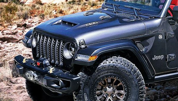 New 2023 Jeep Wrangler 392 Concept Design