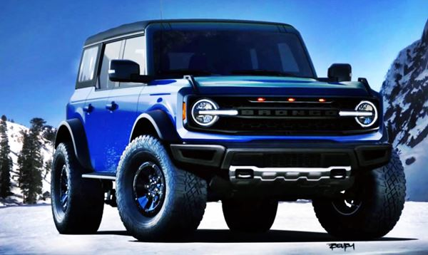 2022 Ford Bronco Exterior Design