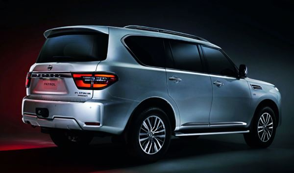 2022 Nissan Armada Exterior Design