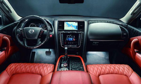 2022 Nissan Armada Interior Design