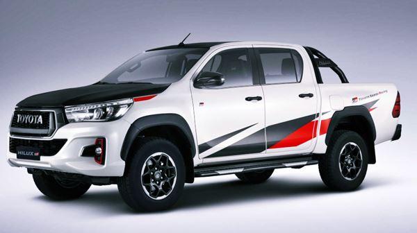 Exterior Toyota Hilux GR 2023